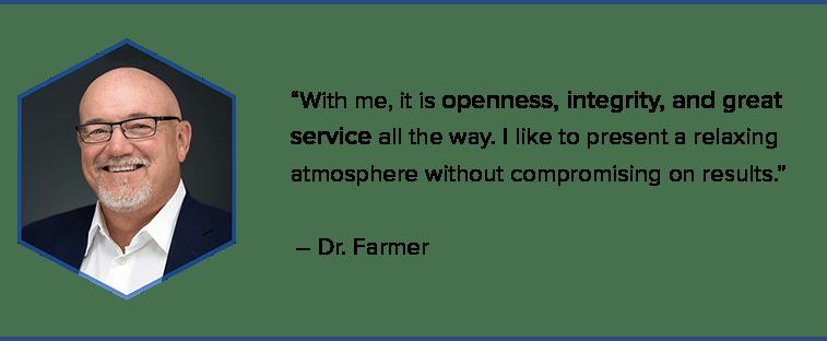Dr. Farmer, Wichita Cosmetic Dentist