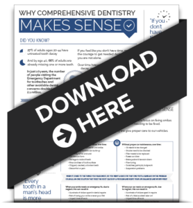 an infographic download regarding Wichita comprehensive dentistry
